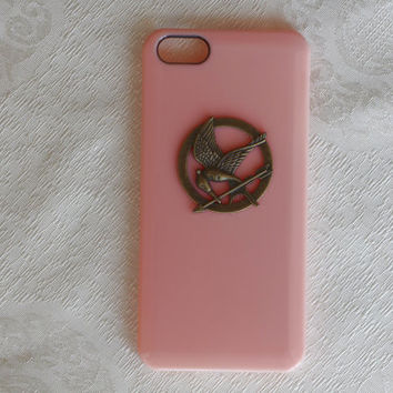 iPhone 4/4s Cover, iPhone 5 Case, the Hunger Games Cover, Inspired Mockingjay Case, Mint Green, Pink, Black, Trending Accessories, Best Gift