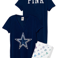 Dallas Cowboys Bling Athletic Tee - PINK - Victoria's Secret