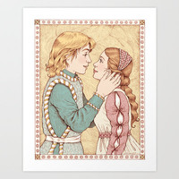 Romeo and Juliet Art Print by Laurie A. Conley