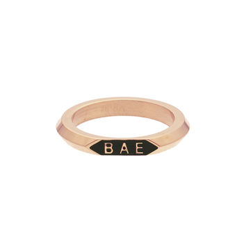 *Mister Bae Ring - Rose Gold