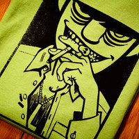 Murdoc Gorillaz Screenprinted TShirt by mosaicshirts on Etsy