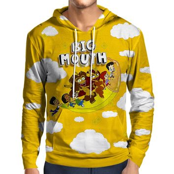 Big Mouth Flying Banana Hoodie