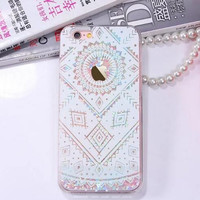The personality of the quicksand lace phone case for iphone 6 6s 6 plus 6s plus + Nice gift box 080902