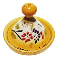 Moroccan Dip Serving Olive Bowl Tagine for Home Entertaining Foodies (Sunny Yellow)