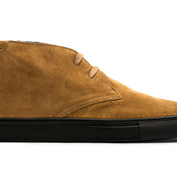 The Royale Chukka - Camel Brown Suede