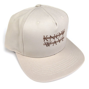 Know Wave: Know Wave Logo 5 Panel - Biege