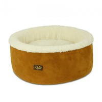 All For Paws Cat or Small Dog Bed Curl & Cuddle Bed