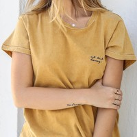 KNOT SISTERS Uh Huh Honey Tee
