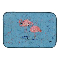 Flamingo Dish Drying Mat 8566DDM