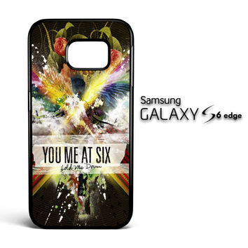You Me At Six British Rock Band Z0575 Samsung Galaxy S6 Edge Case