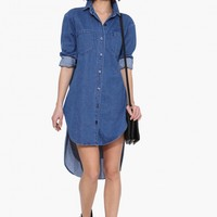 Carly Denim Dress