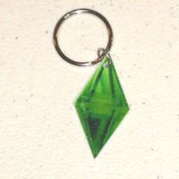 Sims Plumbob (Diamond Thing) Keychain