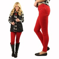 Lady In Red Skinny Jeans II