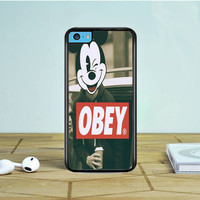 Mickey Mouse Obey iPhone 5 5S 5C Case Dewantary