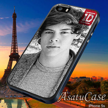Harry Style - Samsung Galaxy S2/S3/S4,iPhone 4/4S,iPhone 5/5S,iPhone 5C,Rubber Case,Cell Phone,Case,Accessories - 251013/CA14
