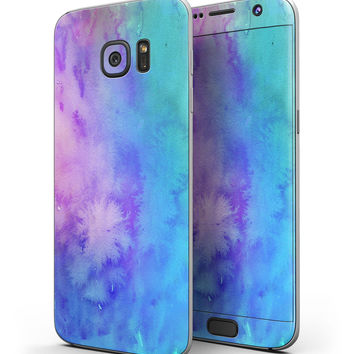 Washed Dyed Absorbed Watercolor Texture - Full Body Skin-Kit for the Samsung Galaxy S7 or S7 Edge