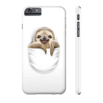 POCKET SLOTH Phone Case