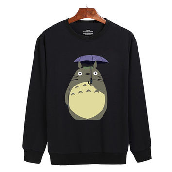 My Neighbor Totoro studio ghibli umberella Sweater sweatshirt unisex adults size S-2XL