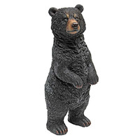 Park Avenue Collection Standing Black Bear Statue