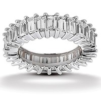 2 1/4ct tw Diamond Anniversary Ring in 14K White Gold - Jewelry & Gifts