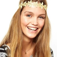 Limited Edition Flower Chain Headband