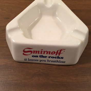 Smirnoff Vodka Ash Tray