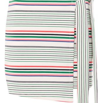 Bright Stripe Wrap Skirt | Topshop