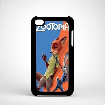 Zootopia Nick & Judy iPod 4 Case