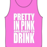 Pretty in Pink Tank - Kiss My Southern Sass