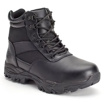 Dickies Spear Men's 6'' Soft Toe Work Boots (Black)