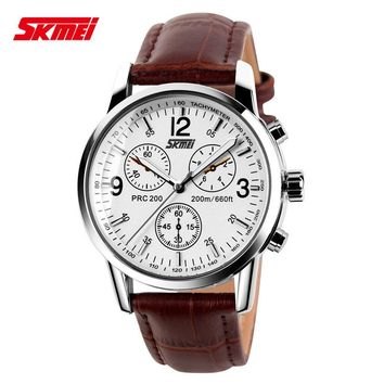Luxury Brand Watch Skmei Watches Mens Quartz Digital Men Full PU Steel Wrist Watches Clock Casual Watch Montre Homme Erkek Saat