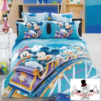 Mickey Mouse Roller Coaster Bedding Set and Quilt Cover