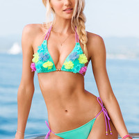 Flower-accent Triangle Top - Beach Sexy - Victoria's Secret
