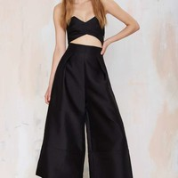 Solace London Divine Wide-Leg Jumpsuit