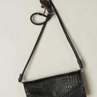 Doro Metallic Snake Crossbody Bag by Liebeskind Black Motif One Size Bags