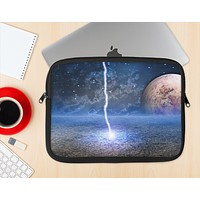 The Energy Planet Discharge Ink-Fuzed NeoPrene MacBook Laptop Sleeve