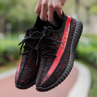 Cool Outdoor Yeezy Boost Sneakers Breathable Athletic Sports Shoes