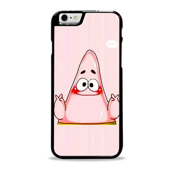 spongebob and patrick best friend 2 cartoon couple Iphone 6 Plus Case