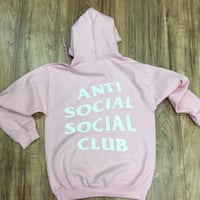 AntiSocial Social Club Hoodie Anti Social Social Club Hooded Kanye Sweatshirts Black - Unisex Hoodie - Kanye West