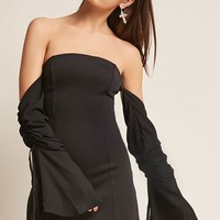 Kikiriki Off-the-Shoulder Ruched Dress