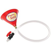 "Party BongTM Large Single Beer Bong Funnel w/ Valve and 40"" Tube"