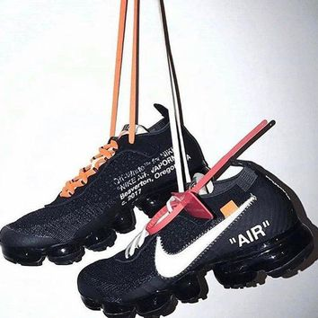 OFF-WHITE x Nike Air Vapor Max Leisure sports shoes-1
