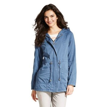 Women's Twill Anorak Jacket - Mossimo Supply Co. : Target