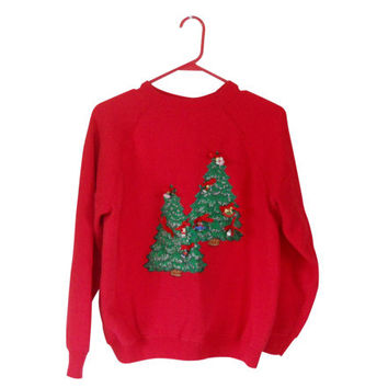 Holiday Sweater Ugly Christmas Sweater Tacky Christmas Sweater Ugly Christmas Sweatshirt 90s Sweatshirt Hipster Sweatshirt Hipster Clothes