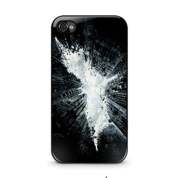 batman 5 iphone 4 4s case cover  number 1