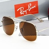 Ray-ban sells large framed polarized sunglasses for casual men