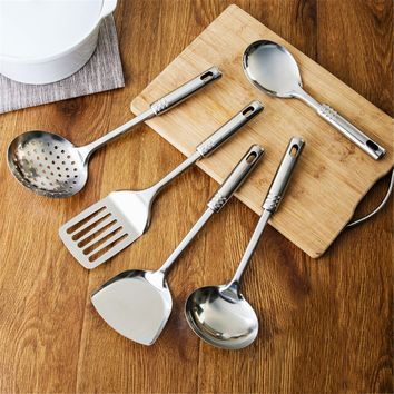 5pcs Stainless Steel Kitchen Utensil Set