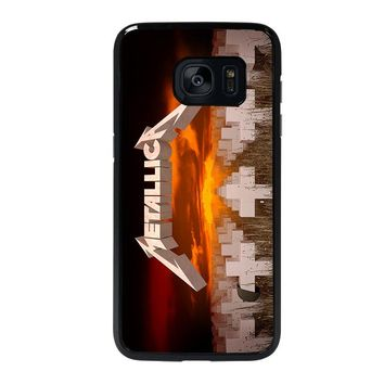 METALLICA MASTER OF PUPPETS Samsung Galaxy S7 Edge Case Cover