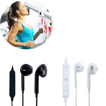 Wireless Bluetooth 4.1 Stereo Headphones Headset In-ear Sports Earphones With Microphone Sweatproof Workout Earbuds