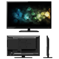 "Majestic 21.5"" Ultra Slim HD LED 12V TV w/DVD Player - Multi-Media Capable"